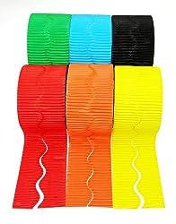 Value Corrugated Border Rolls Assortment - 6 pack