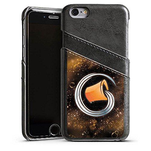 Apple iPhone 5s Housse Étui Protection Coque Signes du zodiaque Verseau Astrologie Étui en cuir gris