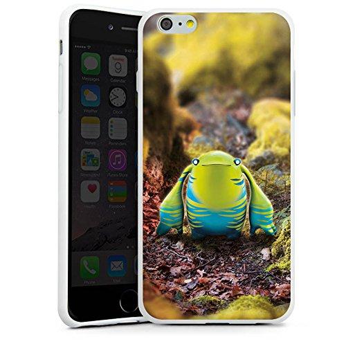Apple iPhone X Silikon Hülle Case Schutzhülle Fabelwesen Fantasie Wesen Silikon Case weiß