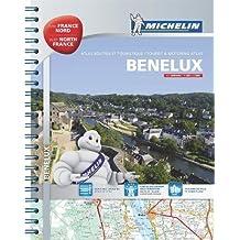 Benelux & North of France - Tourist & Motoring Atlas: Tourist & Motoring Atlas A4 spiral (Michelin Road Atlases)