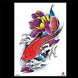 zgmtj Adesivi per Tatuaggi Kung Fu Impermeabili ed ecologici TH-629 148 * 210MM