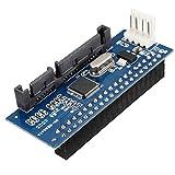 40 Pin 3,5 IDE auf 7 + 15 22 Pin SATA Steckeradapter Interner Festplattenkartenadapter für Festplattengehäuse