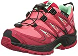 Salomon Unisex-Kinder XA Pro 3D Cswp Traillaufschuhe, Pink (Madder Pink/Lotus Pink/Lucite Green), 27 EU