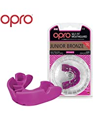 OPRO Junior Bronze Level Mouthguard for Ball, Stick and Combat Sports - 18 Month Dental Warranty