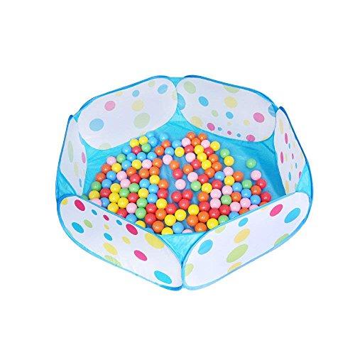 Ytrapeze Kinder Bällebad, große Pop up Kleinkind Ball Gruben Zelt für Kleinkinder, Kinder für Indoor Outdoor Baby Ball Pool Laufstall mit Reißverschluss Aufbewahrungstasche, Bälle Nicht Enthalten (Indoor-bällebad Kleinkinder Für)