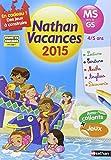 Cahier de vacances - Maternelle  4 - 5 ans
