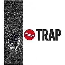 TRAP monopatín Grip Tape Crest