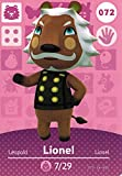 Animal Crossing Happy Home Designer, amiibo Karte Lionel 072/100