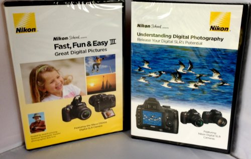 Nikon School Combo Pack Includes Fast, Fun & Easy & Understanding Digital Photography Release Your SLR's Potential Nikon School Video