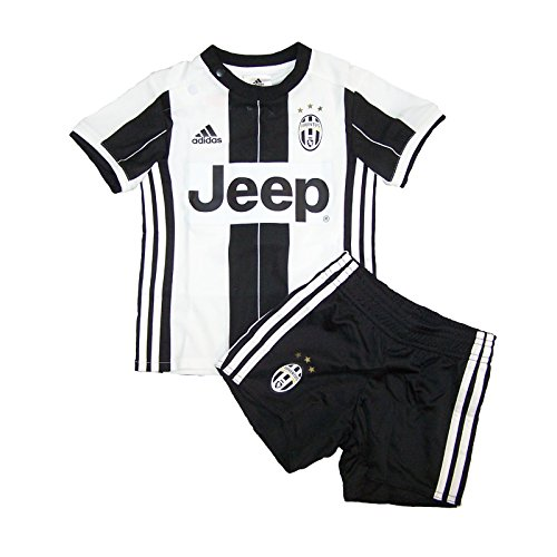 adidas Kinder Trainingsanzug Juventus Turin Mini-Heimausrüstung White/Black 86