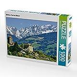 CALVENDO Puzzle Schloss Tirol bei Meran 1000 Teile Lege-Größe 64 x 48 cm Foto-Puzzle Bild von Gisela Scheffbuch