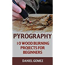 Pyrography: 10 Wood Burning Projects For Beginners (English Edition)