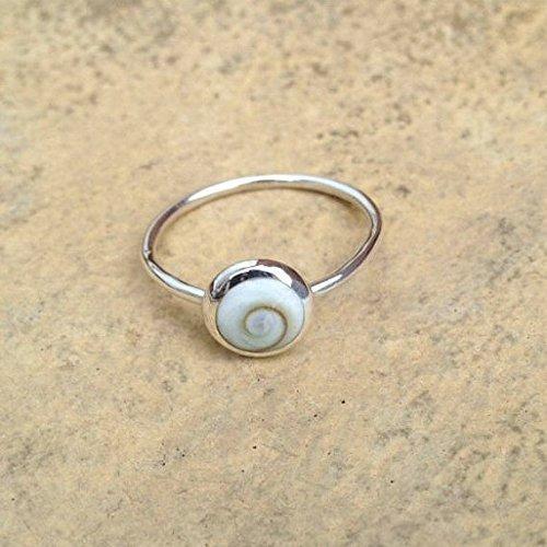 silver-shiva-eye-ring-sterling-silver-boho-ring-shell-ring-silver-stacking-ring-boho-jewelry-festiva