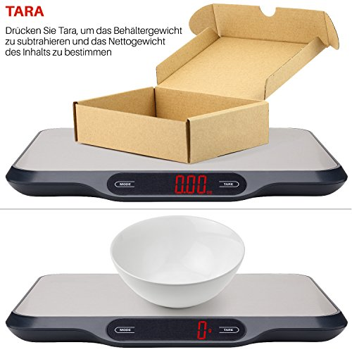 Smart Weigh Küchenwaage – perfekt für Thermokocher - 5