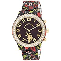 U.S. Polo Assn. Women's Quartz Metal and Alloy Watch, Color:Two Tone (Model: USC40108)