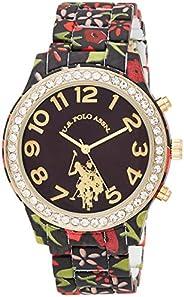 U.S. Polo Assn. Women's Quartz Metal and Alloy Watch, Color:Two Tone (Model: USC40