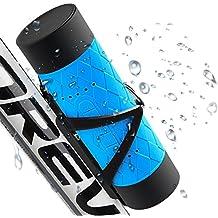 BTBOOM Altoparlanti impermeabili Bluetooth, Altoparlante portatile Bluetooth per bici con microfono incorporato, Supporto Micro SD Card Play per Outdoor Sport Viaggi Escursionismo Arrampicata e Indoor Party (azul)