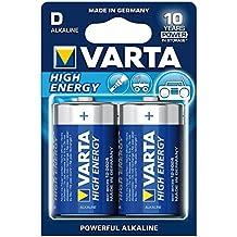 Varta High Energy D Mono LR20 Batterie (2er Pack) Alkaline Batterie