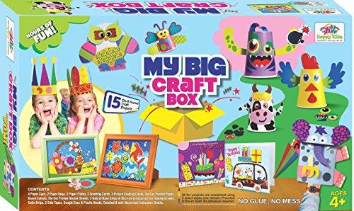 Happy Kidz Art & Craft Toys My Big Craft Box Toys For Kids - Grey