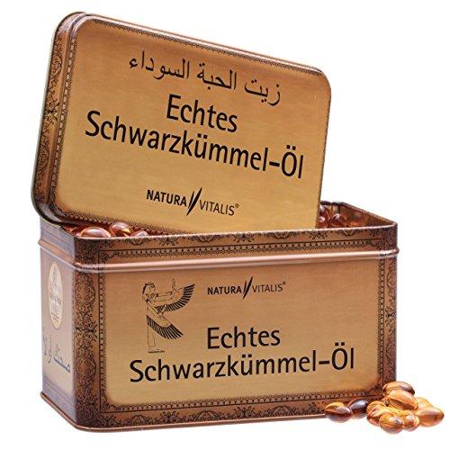Natura Vitalis Schwarzkmmell 730 Softgels