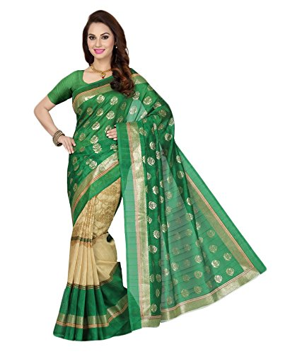 Ishin Silk Saree (Ishinsp-701_Green)