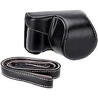 AndoerFunda Cubierta Bolsa Caso para Cámara de Sony A5000 A5100 NEX 3N (Negro)