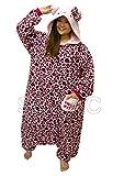 SAZAC Hello Kitty Leopard Muster Pajama Kigurumi