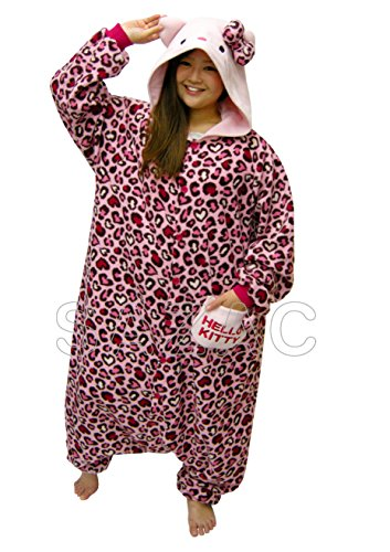 SAZAC Hello Kitty Leopard Muster Pajama -