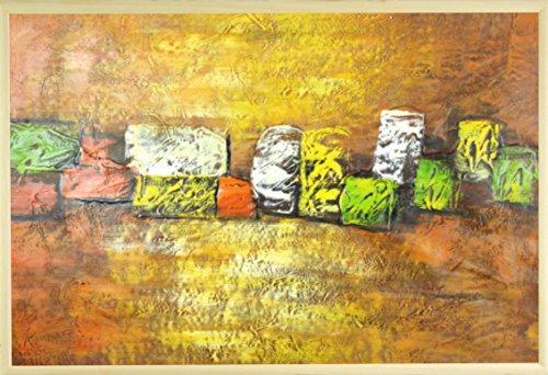 dans-le-milieu-orange-huile-sur-toile-peinture-60-x-90-cm-61-x-914-cm-encadree-cadre-photo-en-bois-e
