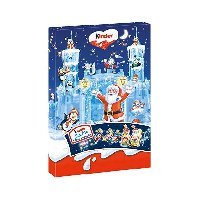 Calendrier De Lavent Kinder 343 G.Ferrero Kinder Mix Calendrier De L Avent Maison De Noel 234g