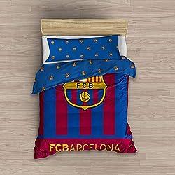 Carbotex Funda NÓRDICA 2 Piezas FC Barcelona Escudo CENTRADO (90)