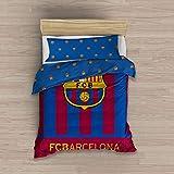 ee79c8b07b5cd Producto con licencia oficial. BABYCHISPITAS EDREDON NÓRDICO Barcelona FC  Escudo CENTRADO 180X260