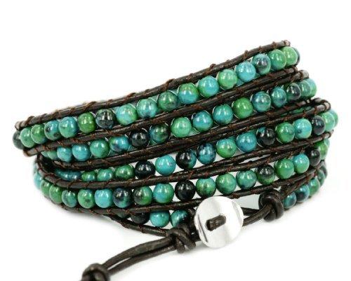 blueyes-collection-amicable-blue-mix-vert-chrysocolle-pierre-precieuse-perles-bracelet-en-cuir-verit