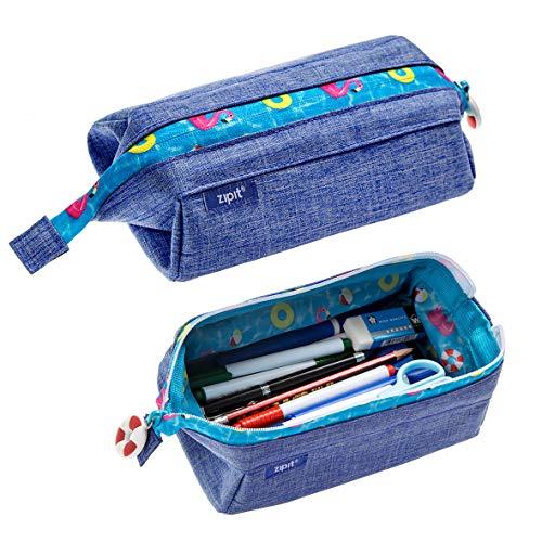 Zipit lenny pencil case, jeans