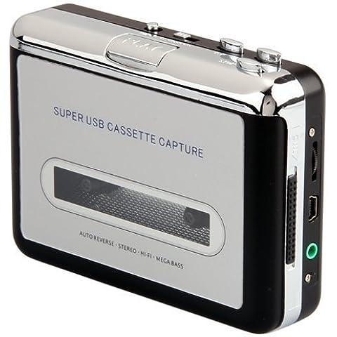 Minidiva La cinta de casete a CD MP3 converter convertidor PC vía USB