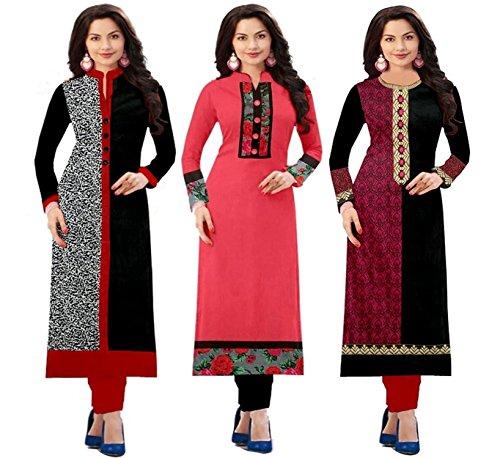 Platinum Pack Of 3 Combo kurti for women new design , latest...