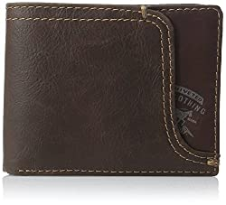 Levis Mens Passcase Wallet, Brown, One Size