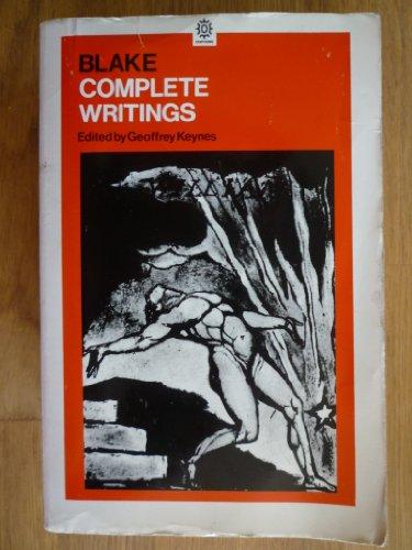 Blake: Complete Writings