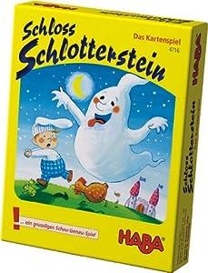 Haba 4716 Schloss Shlotterstein - Juego de cartas infantil con fantasmas (en alemán)