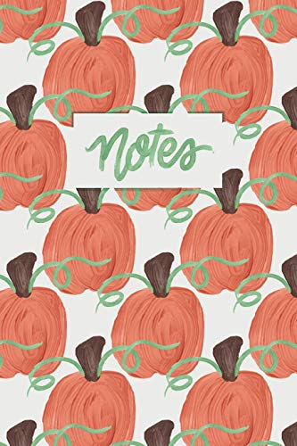 Notes: A Painted Pumpkin Dot Grid Notebook (Womens Cozy Cardigan)