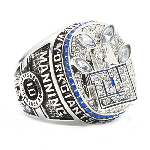 d Männer 2011 New York Giants Meisterschaft Ringe,Größe 59(18.8) (Neun Menschen Kostüm)