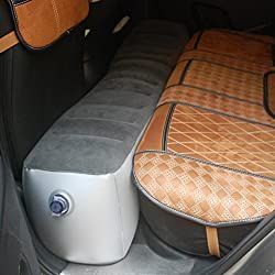 Foot Rest Kissen aufblasbares Bein Fußstütze Kissen für Erwachsene zu Relax Cars Büro Home Bett Kids Sleep Lange Flight flatable-tragbar Auto Zug Matte Air Matratze Universal hinten Sitz self-dr