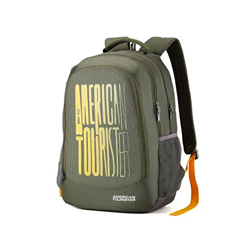 American Tourister 32 Ltrs Olive Casual Backpack (AMT Fizz SCH Bag 03 - Olive) Image 2