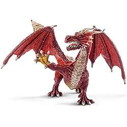 Schleich - Dragón guerrero, figura (70512)