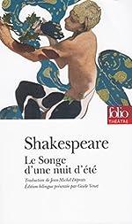 Le songe d'une nuit d'été, Shakespeare - Prépas scientifiques 2018-2019 - édition prescrite de William Shakespeare