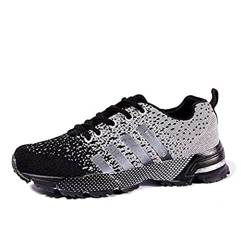 Mens Womens Trainers Competition Running Shoes Lightweight Summer Sneakers Black