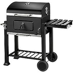 TecTake BBQ BARBECUE A CARBONELLA - modelli differenti - (Griglia a carbonella di lusso (402174))