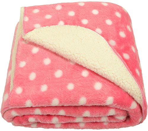 Love Bird Fur Baby Blanket ,Pink (39.5inch*30inch)