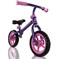 "My Play Toddler Balance Bike Adjustable Seat Height with 9"" Rubber Tyres"