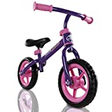 Kids Childrens Lightweight Metal Training Balance Bike (Purple) - Best Reviews Guide